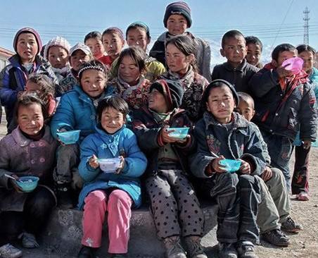 tibeti gyerekek